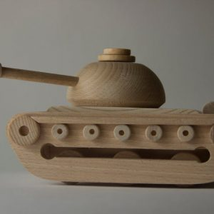 "Wooden toy tank ""Teshka"""