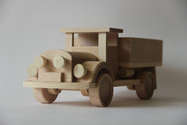 "Wooden toy car ""ZIS"""